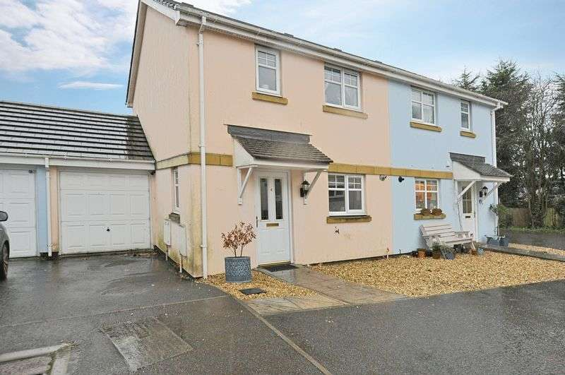 3 Bedrooms Semi Detached House for sale in Chudleigh