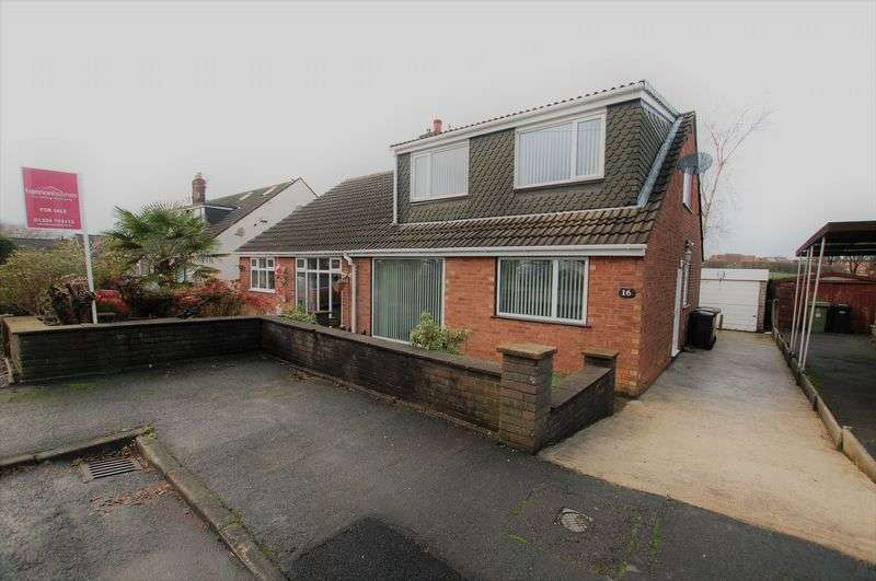 3 Bedrooms Semi Detached Bungalow for sale in Catterick Drive, Bolton