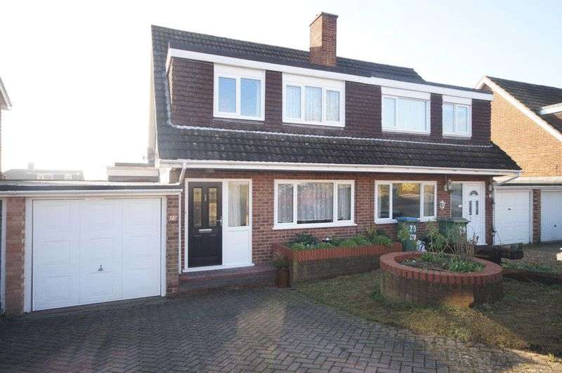 3 Bedrooms Semi Detached House for sale in Froxfield Gardens, Portchester, Fareham, PO16