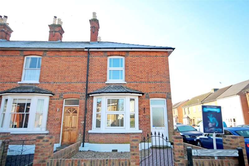 3 Bedrooms End Of Terrace House for sale in Chapel Avenue, Addlestone, Surrey, KT15