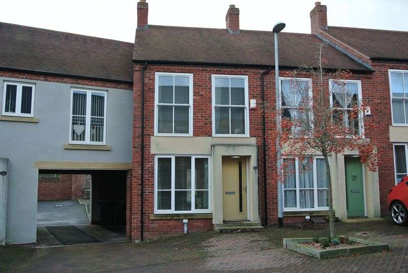 2 Bedrooms Terraced House for sale in Village Drive, Lawley, Telford, Shropshire.