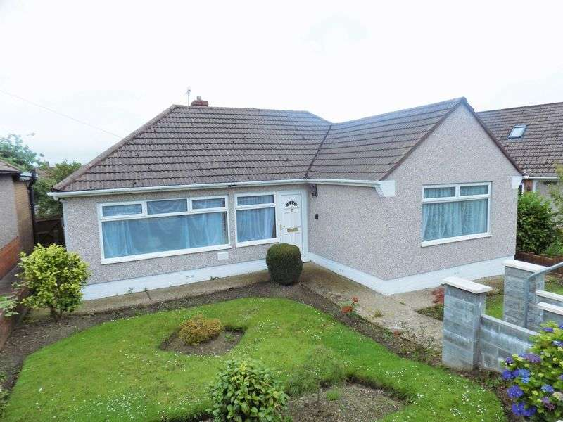 3 Bedrooms Detached Bungalow for sale in Lansbury Close, Caerphilly