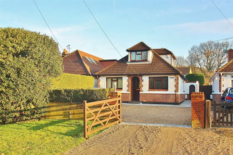 4 Bedrooms Detached Bungalow for sale in Shaftesbury Road, Bisley, Woking, Surrey, GU24