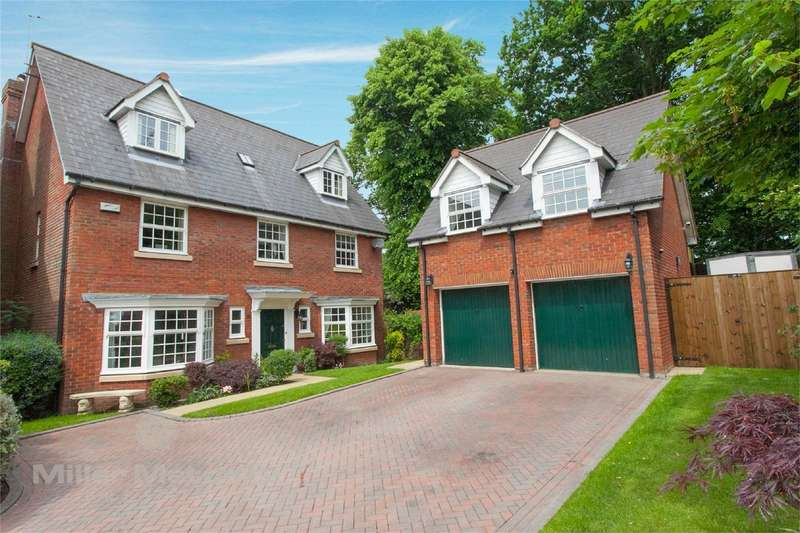 5 Bedrooms Detached House for sale in Marryat Close, Winwick, Warrington, Cheshire