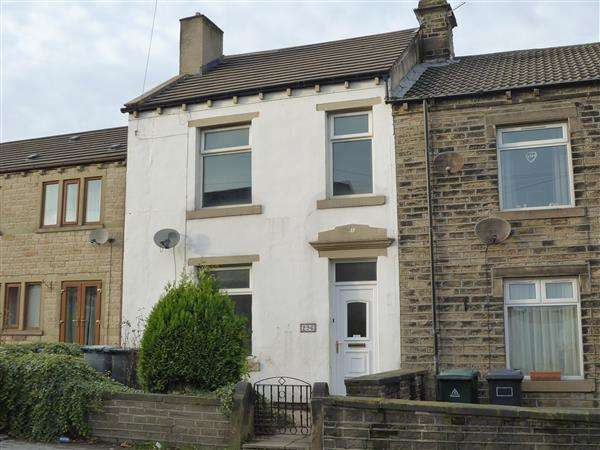 3 Bedrooms End Of Terrace House for sale in Leymoor Road, Golcar, Huddersfield