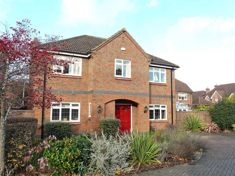 5 Bedrooms Detached House for sale in Williams Mead, Bartestree, Hereford, HR1