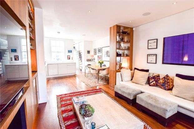 2 Bedrooms House for sale in Wallgrave Road, Earls Court, London, SW5
