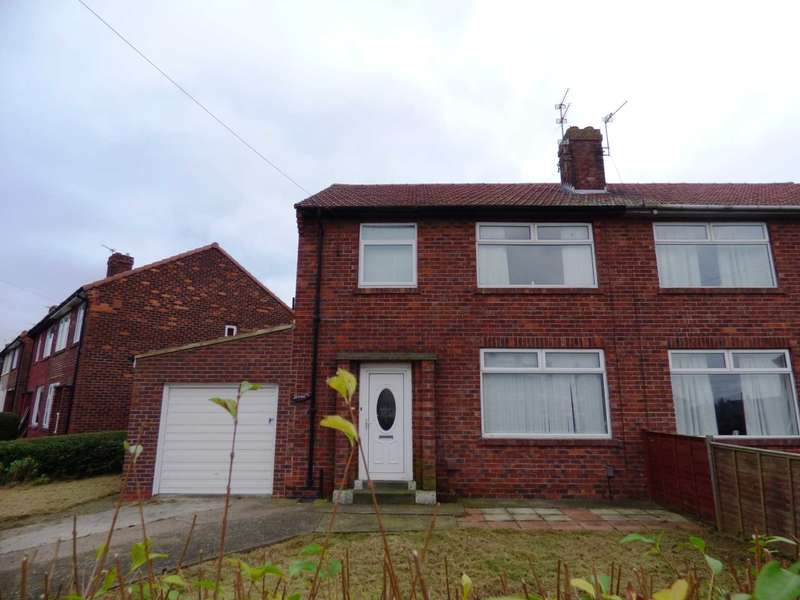 3 Bedrooms Semi Detached House for sale in Meadow Road, Marske By The Sea