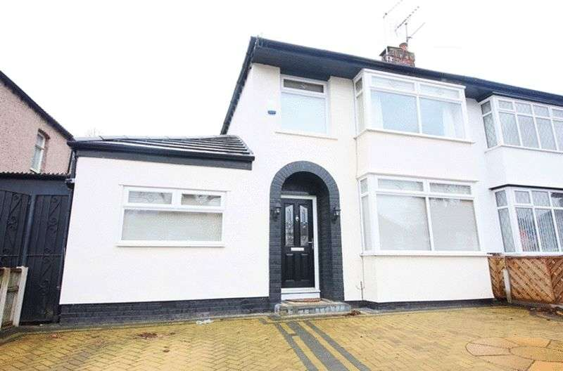 3 Bedrooms Semi Detached House for sale in Score Lane, Childwall, Liverpool, L16.