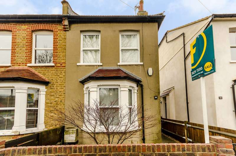 2 Bedrooms Semi Detached House for sale in Blagdon Road, New Malden, KT3