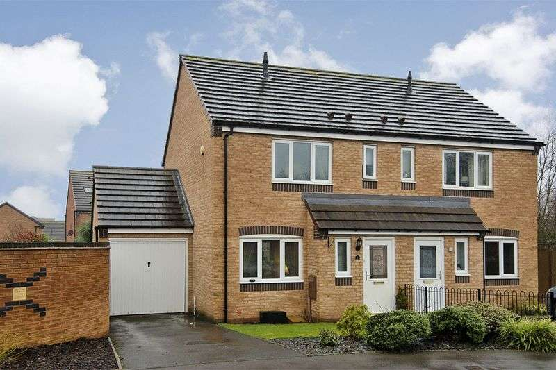 3 Bedrooms Semi Detached House for sale in Partridge Close, Heath Hayes, Cannock