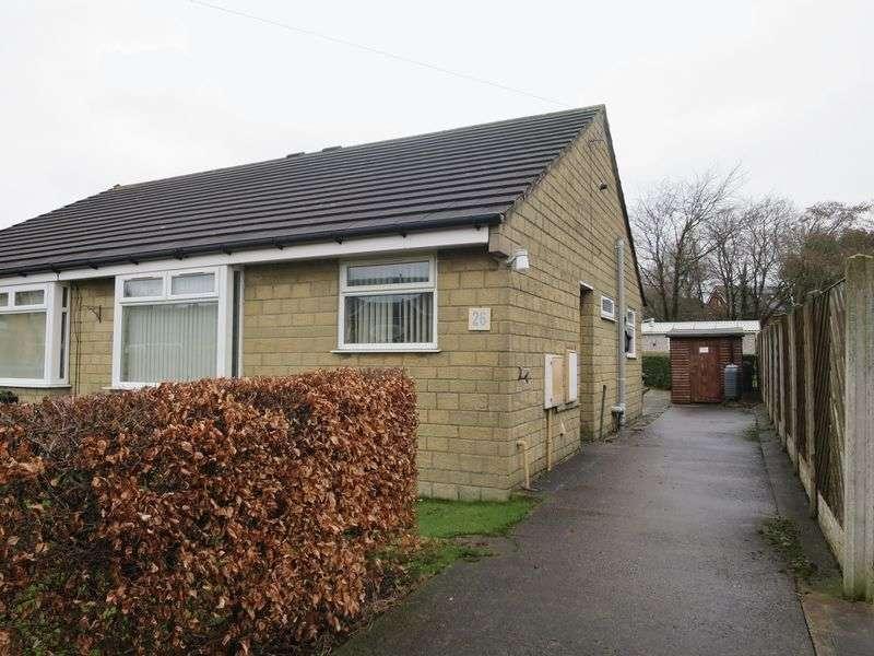 2 Bedrooms Semi Detached Bungalow for sale in Hawley Way, Morley,Leeds