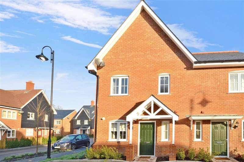 3 Bedrooms End Of Terrace House for sale in Cook Way, Broadbridge Heath, Horsham, West Sussex