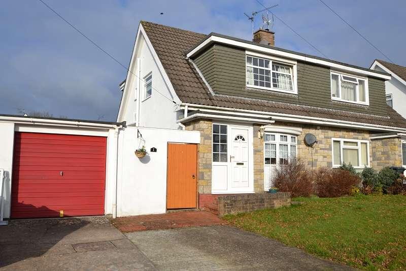 3 Bedrooms Semi Detached House for sale in 1 Mur Gwyn , Rhiwbina, Cardiff. CF14 6NR