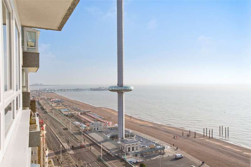 2 Bedrooms Flat for sale in Bedford Towers, Kings Road, Brighton, East Sussex, BN1