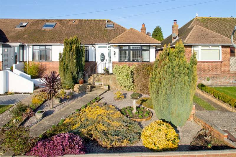 3 Bedrooms Semi Detached Bungalow for sale in Stoneleigh Avenue, Brighton, East Sussex, BN1