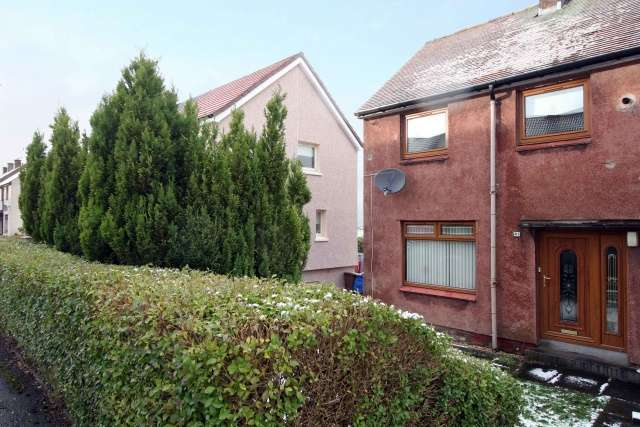 2 Bedrooms End Of Terrace House for sale in Anderson Crescent, Shieldhill, Falkirk, Forth Valley & The Trossachs, FK1 2ED