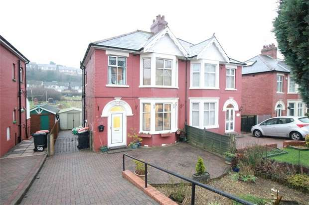 3 Bedrooms Semi Detached House for sale in Chepstow Road, NEWPORT