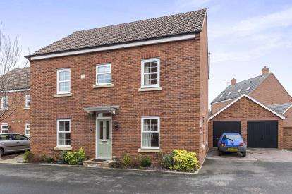 4 Bedrooms Detached House for sale in Buchan Drive, Kingsway, Quedgeley, Gloucester