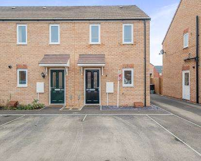 2 Bedrooms End Of Terrace House for sale in Apollo Avenue, Peterborough, Cambridgeshire, United Kingdom