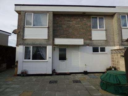 3 Bedrooms End Of Terrace House for sale in Lon Ceredigion, Pwllheli, Gwynedd, LL53
