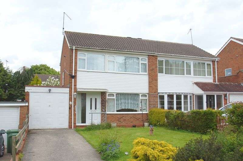 3 Bedrooms Semi Detached House for sale in Cheswick Close, Winyates Green, Redditch, Worcestershire