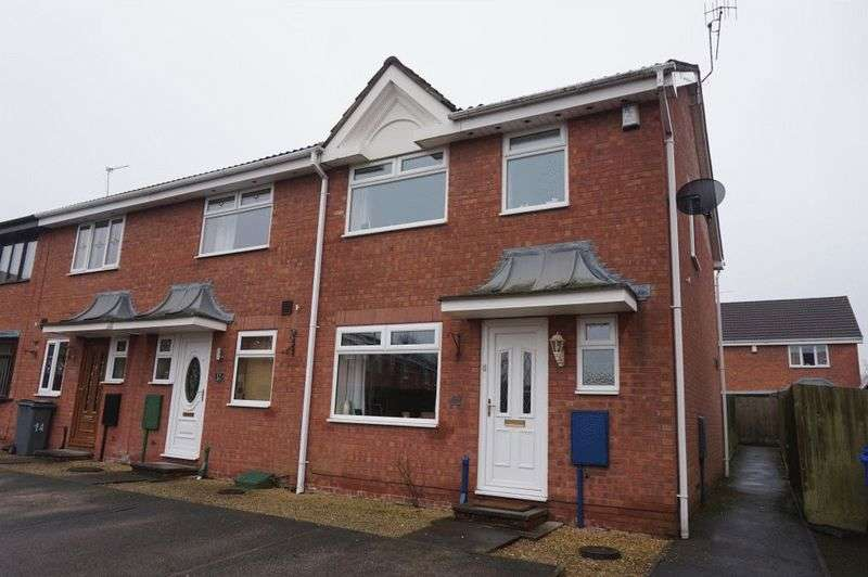 3 Bedrooms House for sale in Aldersea Close, Burslem, Stoke-On-Trent, ST6 4DY