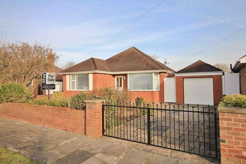 2 Bedrooms Detached Bungalow for sale in 30 Woodland Drive, Poulton-Le-Fylde, FY6 8ET