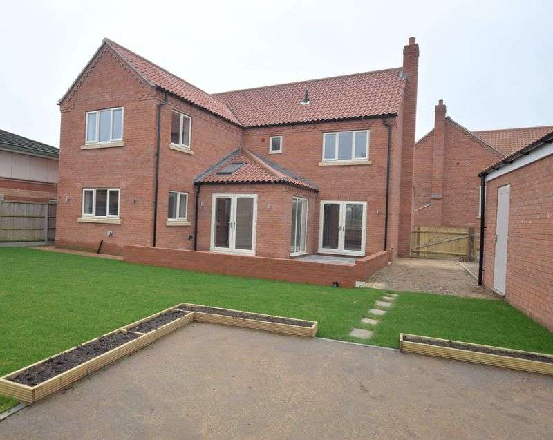 4 Bedrooms Detached House for sale in Brook Farm Close, Ruskington, Sleaford