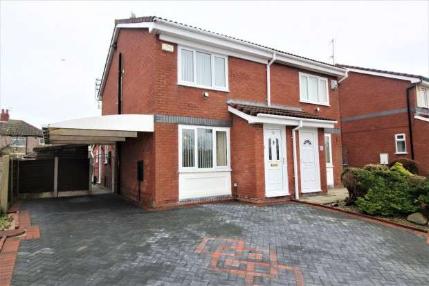 2 Bedrooms Semi Detached House for sale in Riversgate, Fleetwood, FY7