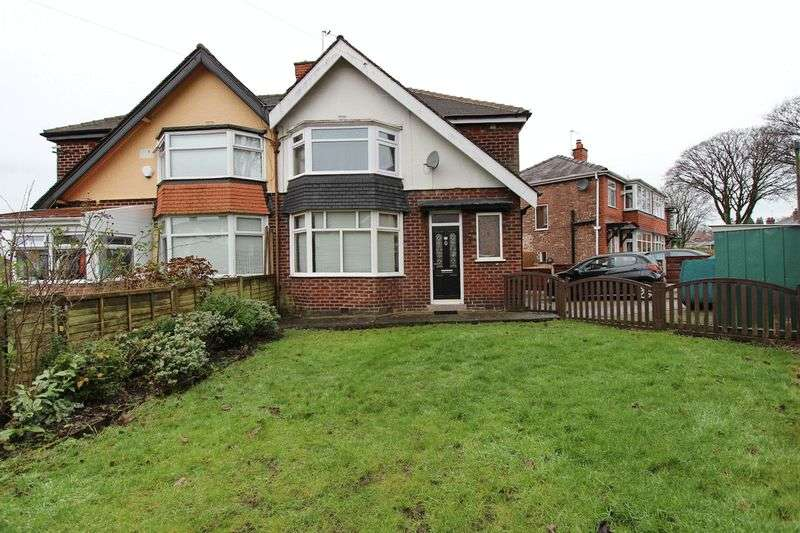 3 Bedrooms Semi Detached House for sale in Merton Road, Prestwich, Manchester