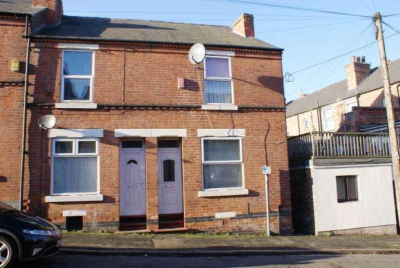 3 Bedrooms End Of Terrace House for sale in Osborne Street, Nottingham