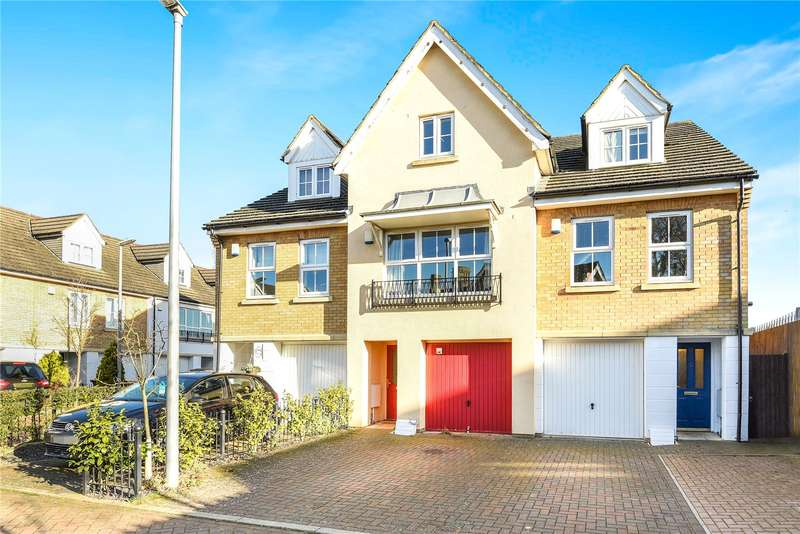 3 Bedrooms Terraced House for sale in Shepherds Farm, Mill End, Hertfordshire, WD3