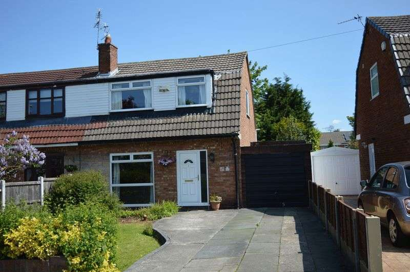 4 Bedrooms Semi Detached House for sale in Martland Avenue, Lowton, WA3 2QT