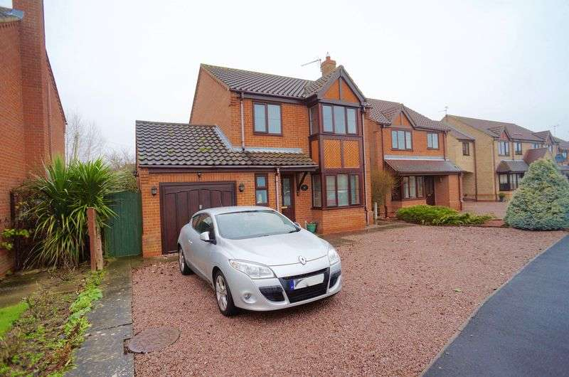 4 Bedrooms Detached House for sale in Poachers Gate, Spalding