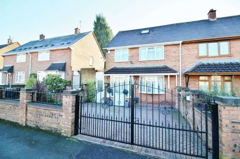3 Bedrooms Semi Detached House for sale in Ashmore Avenue, Ashmore Park, Wednesfield, Wolverhampton