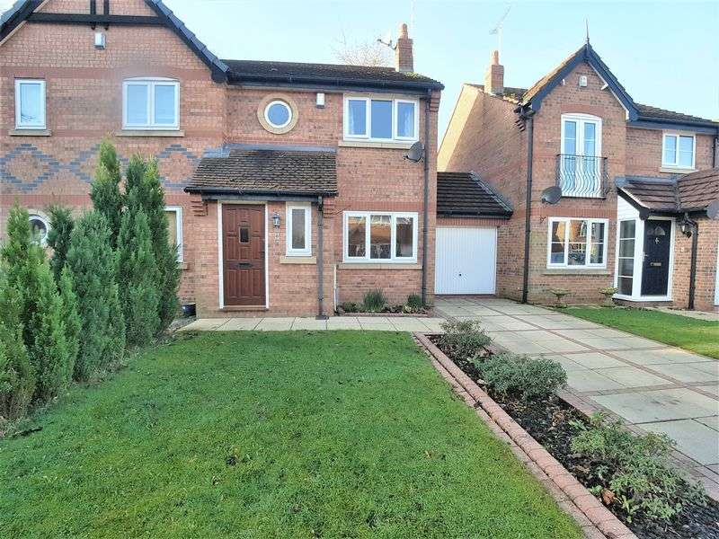 3 Bedrooms Semi Detached House for sale in Coach House Court, Burscough, Ormskirk