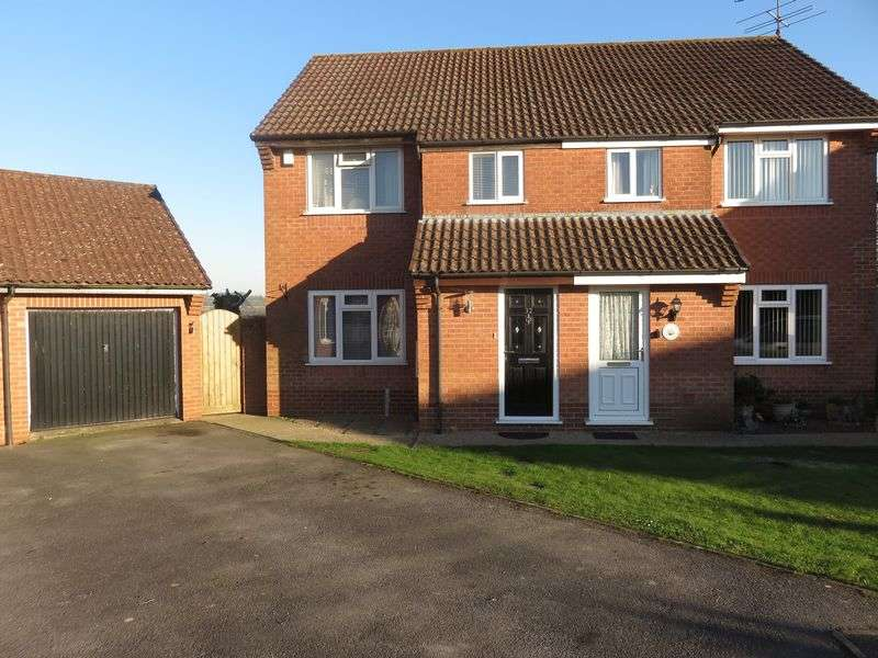 3 Bedrooms Semi Detached House for sale in Norrington Way, Chard