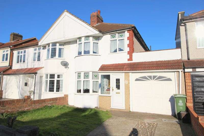 3 Bedrooms Semi Detached House for sale in Gloucester Avenue, Sidcup