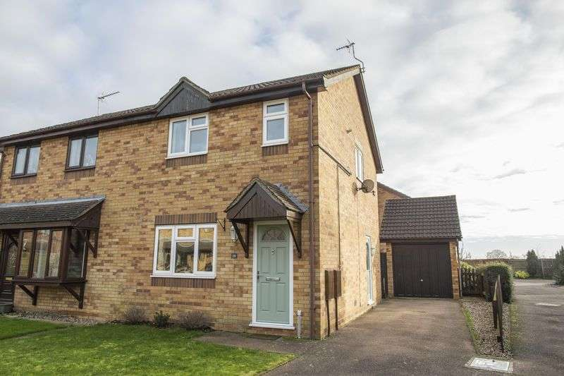 3 Bedrooms Semi Detached House for sale in Blackbourne Road, Elmswell