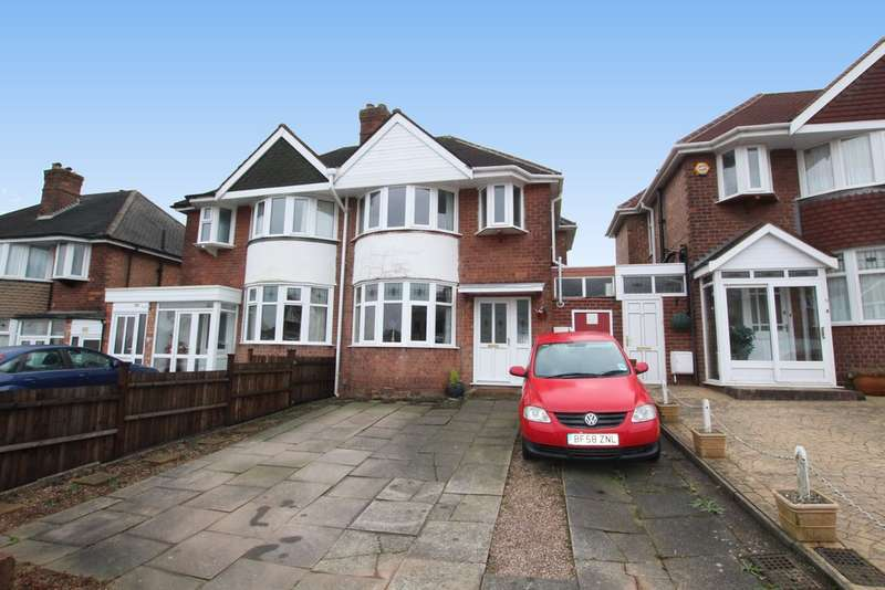 3 Bedrooms Semi Detached House for sale in Shipton Road, Sutton Coldfield, B72 1NR