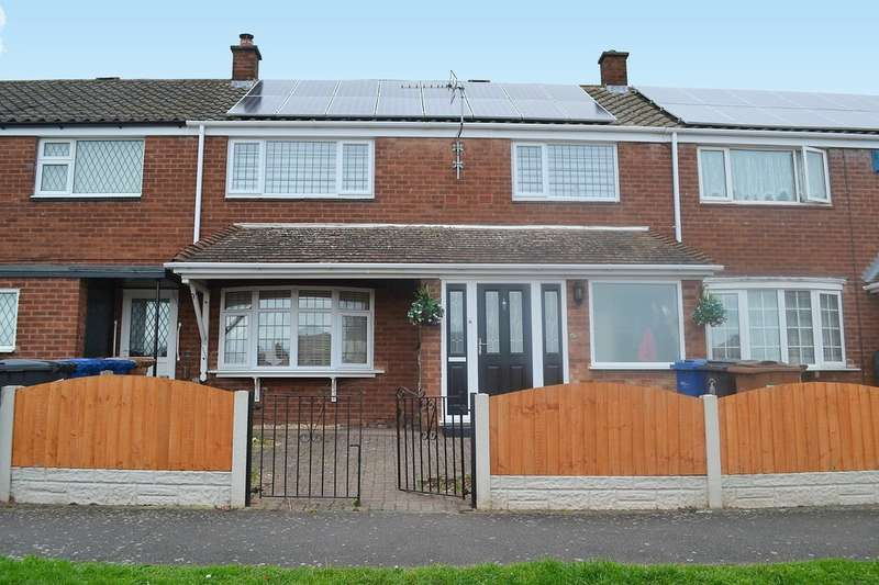 3 Bedrooms Terraced House for sale in Darnford View, Lichfield