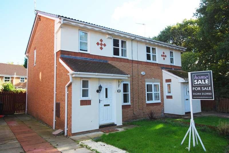 3 Bedrooms Semi Detached House for sale in Lindisfarne Avenue, Stanney Oaks