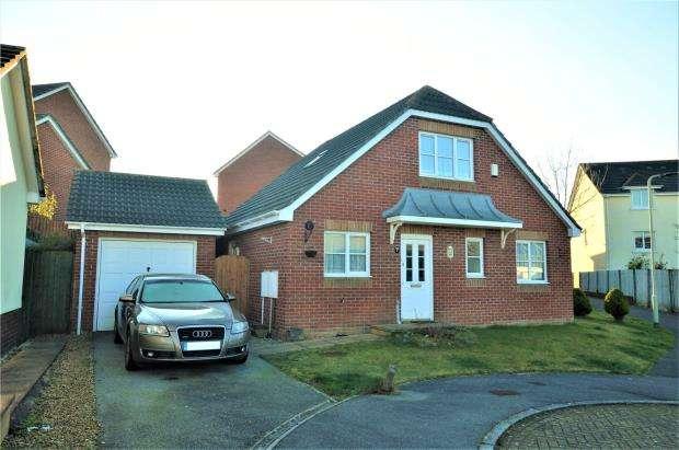 3 Bedrooms Detached Bungalow for sale in Howard Close, Okehampton, Devon
