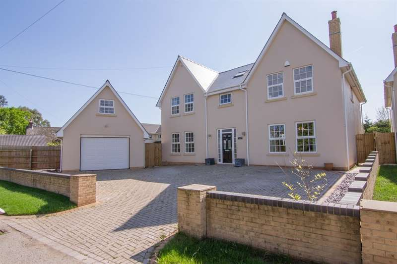 5 Bedrooms Detached House for sale in Church Road, St. Brides, Wentlooge