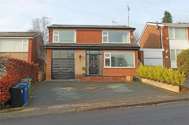 4 Bedrooms Detached House for sale in Dovehouse Close, Whitefield, Manchester, Lancashire