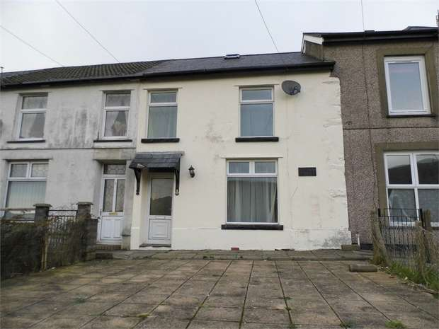 2 Bedrooms Terraced House for sale in Osborne Terrace, Nantymoel, Bridgend, Mid Glamorgan