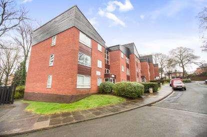 2 Bedrooms Flat for sale in Kenilworth Court, Kenilworth Close, Worcester, Worcestershire