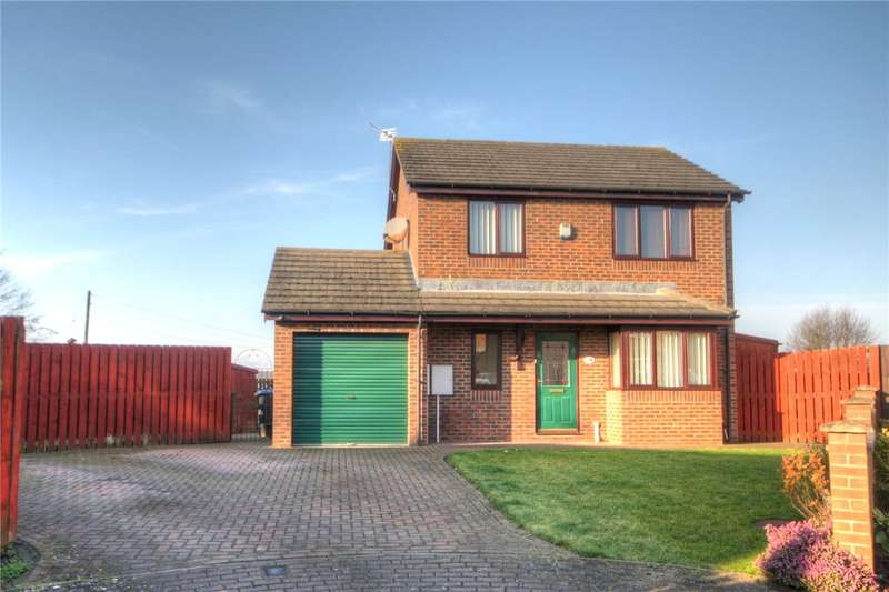 3 Bedrooms Detached House for sale in Pilkington Way, Auckland Park, Bishop Auckland, DL14