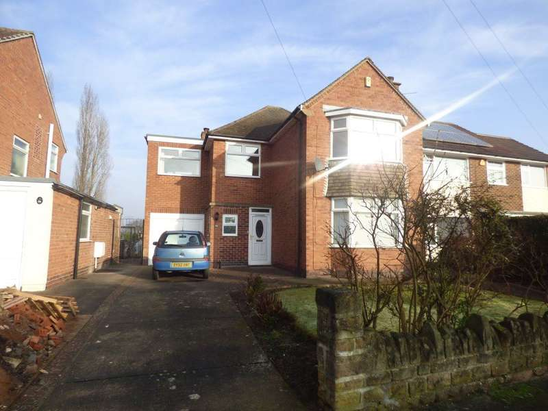 4 Bedrooms Detached House for rent in Balmoral Drive, Bramcote, Nottingham, NG9 3FT